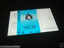 GRAM PARSONS Grievous Angel NEW ZEALAND UNUSED Inlay Card Only