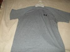 PRE-OWNED UNDER ARMOUR SHORT SLEEVE SHIRT MENS SIZE sm ..FINISH LINE