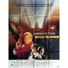 BLADE RUNNER Movie Poster  47x63 in. French - 1982 - Ridley Scott, Harrison Ford
