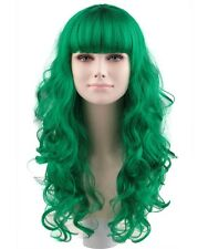 WOMEN'S FASHION SYNTHETIC CELEBRITY GREEN WIG ('Katy Perry Style') | HD-1064