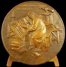 Médaille La Documentation Française sc H Dropsy étude des vieux ouvrages medal