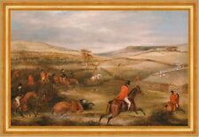 The Berkeley Hunt: The Chase Francis Calcraft Turner Jagd Pferde B A3 01818