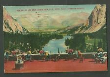 1938 Used Postcard Bow Valley & Golf Course From C.P.R. Hotel Canadian Rockies