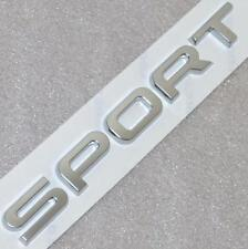 Genuine OEM RANGE ROVER SPORT SUPERCHARGED Boot Badge Emblem Letters Silver