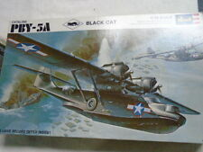 "VINTAGE REVELL ""CATALINA PBY-5A "" "" BLACK CAT"" 1/72  AIRPLANE MODEL KIT"