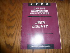 2003 Chrysler Chassis Diagnostic Procedures - Jeep Liberty