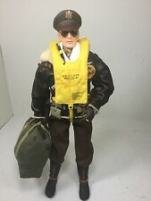 1/6 DRAGON US 8TH AIR FORCE B-17 PILOT CAPT+FLIGHT BAG & COLT BBI DID 21st WW2