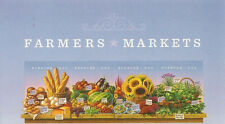 US 4915a Farmers Markets forever header strip set MNH 2014