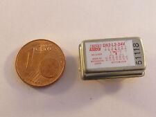 1 Stück DX2-L2-24V SDS Miniatur Relais Hermetisch Dicht, 2 Wechsler, 24V