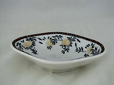 "Bailey Walker China Bowl w Floral  Decoration, 5"" x 7"" oval shape"