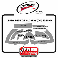 BMW F650 GS & Dakar 2004-2000 - 3M 846 Scotchgard Paint Protection - Bike Kit