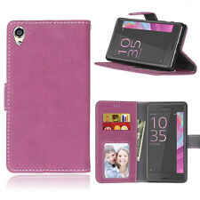 Photo Wallet Leather Flip Case Cover Stand For Sony Xperia X/XA/Z3/Z5/M4/M5/E4G