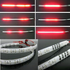 2PCS Red 30CM 3528 32Led Knight Rider Flash Strobe Scanner Neon Strip Light DIY