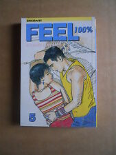 FEEL 100% - manga Lau Wan Kit Vol.5 edizione Jade Comics   [G371D]