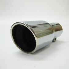 Chrome Exhaust Pipe Muffler Tail Tip For Mitsubishi Colt Lancer L200 Galant