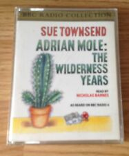AUDIO BOOK - Sue Townsend ADRIAN MOLE: The Wilderness Years on 2 x cass - BBC