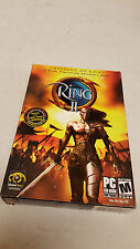RING II Twilight of God's Computer game (PC: CD ROM GAME 2003) *BRAND NEW*