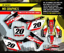 2014 2015 2016 HONDA CRF 250R GRAPHICS KIT CRF250R MOTOCROSS DIRT BIKE MX DECALS