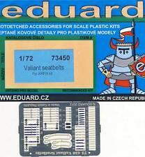 Eduard-valiant seatbelts for Airfix ceintures ätzteile 1:72 modèle-Kit NEUF