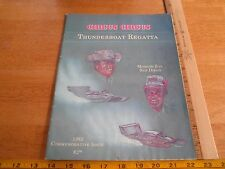 1982 Mission Bay Thunderboat Regatta racing Program Hydroplane San Diego