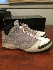 2008 Nike Air Jordan 23 XX3 Retro White/Stealth/Gold Size 11 Preowned