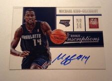 2012-13 Elite Michael Kidd-Gilchrist Inscriptions Auto RC On Card Hornets