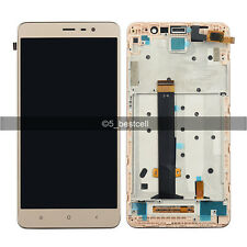 "Gold 5.5""  Xiaomi Redmi Note 3 Pro Touch Digitizer+LCD Display Assembly+Frame"
