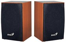 Genius - 31731063101 - Sp-hf160 2.0 Pc Speakers 4w - Usb Powered, Wood