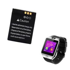 1Pc Rechargeable Li-ion polymer battery 380mAh 3.7V For DZ09 Smart Watch Useful