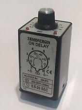 Tempatron en temporizador de retraso 8 Pin Octal 240V 0.5 - 20 segundos RS 349-872 fd5h5