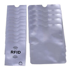 RFID Credit Card ID Sleeve Protector Blocking Safe Aluminum Shield Anti Theft A+