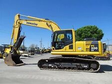 Komatsu PC200-8 & PC220-8 excavateur/digger workshop manual