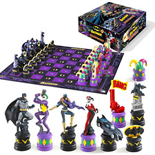 Chess Set Batman Dark Knight vs The Joker Collectible Character Pieces Game Toy