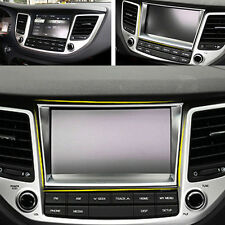 ABS Chromed Navigation Display Screen Decorative Frame trim for Tucson 2015-2016