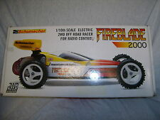 Vintage Schumacher U407L Fireblade 2000 2WD Electric Competition Offroad Buggy