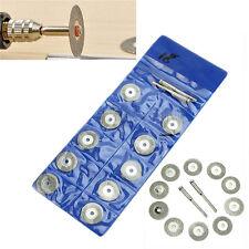 Rotary Tool 18mm Circular Saw Blades Cutting Wheel Discs Mandrel Dremel Cutoff