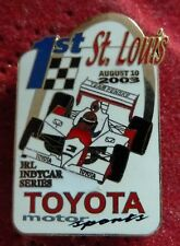 PIN'S COURSE USA F1 IRL INDY CAR SERIES TOYOTA MOTOR SPORT ST LOUIS 2003 EGF MFS
