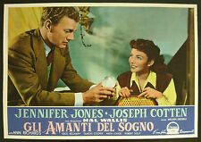 CINEMA-fotobusta GLI AMANTI DEL SOGNO richards,jones,cotten,kellaway,DIETERLE