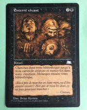 MTG MAGIC Carte ENTERRÉ VIVANT Buried Alive AQUILON Weatherlight 1997