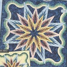 Feathered Star Queen size foundation paper pieced quilt pattern by Judy Niemeyer