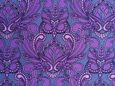 By 1/2 Yard Free Spirit Tula Pink Fabric True Colors Mini Owl Orchid Purple Pink