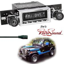 RetroSound 76-86 Jeep CJ5/CJ7 RC900c Radio/3.5mm AUX-In for ipod/Push Button