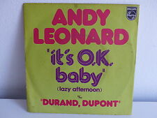 ANDY LEONARD It's OK baby 6042250