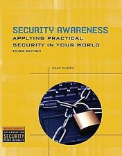 Security Awareness: Applying Practical Security in Your World, Mark Ciampa, Good