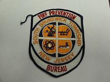 PATCH FIRE AND RESCUE PREVENTION SOUTH BRUNSWICK TOWNSHIP NEW JERSEY BUREAU