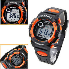 NEW Multifunction Waterproof Child/Boy's/Girl's Sports Electronic Watch ORANGE