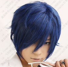 07 Vocaloid Kaito Short blue party cosplay wig postage free