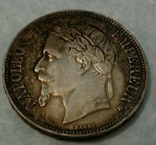 France 5 Francs silver Napoleon ,1867,,extremely fine Imho, will grade high!