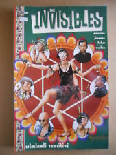 THE INVISIBLES : Criminali sensitivi  - Book Magic Press 1999  [G476]