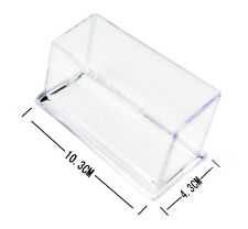 New Clear Acrylic Plastic Business Card Display Desk Stand Desktop Holder